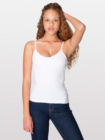 American Apparel Cotton Spandex Jersey Bra-Cami